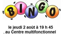 Bingo 2 août 2018